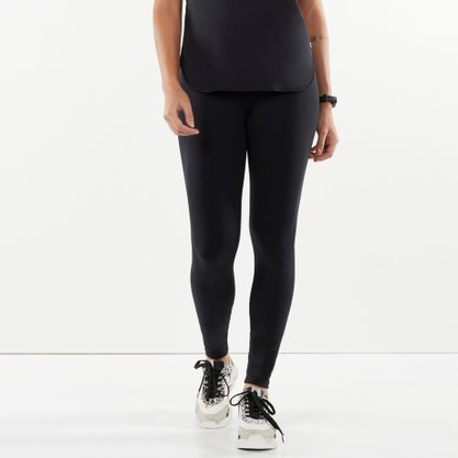 Legging Alto Giro Supplex Termo Preto Ref 101302