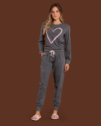 Pijama Lua Luá With Love Inverno 2021 Ref 174175